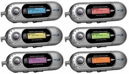 "MediaREADY Aero MP3 players with ""eye-popping style"""