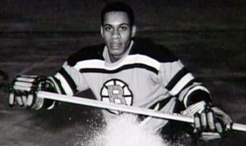 Sunday Snippet: Willie O'Ree (Canada Black History Month)