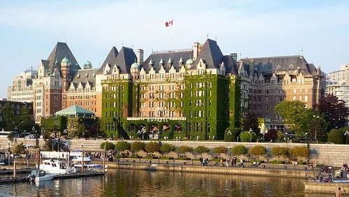 Travel Tuesday: The Fairmont Empress Hotel in Victoria, BC (Video)