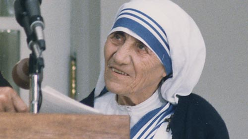 Sunday Snippet: Mother Teresa (1910-1997)