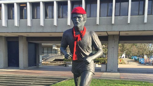 Festive Terry Fox by Richard Eriksson
