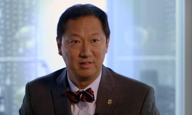 Sunday Snippet: Dr. Santa J. Ono