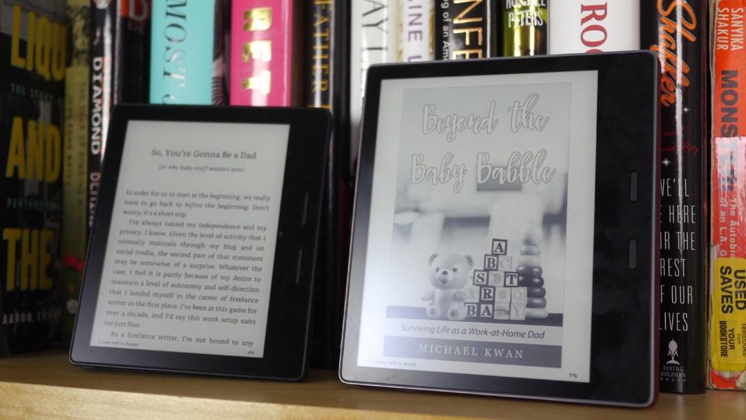 Amazon Kindle Oasis (2016) vs. Kindle Oasis (2017)