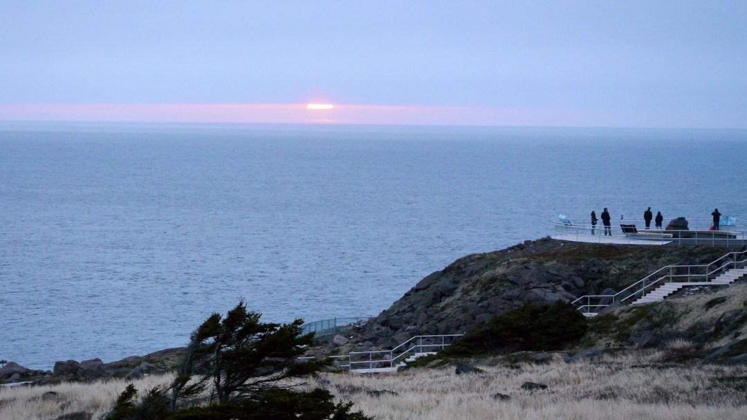 Cape Spear sunrise, Newfoundland
