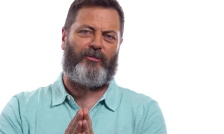 Sunday Snippet: Nick Offerman