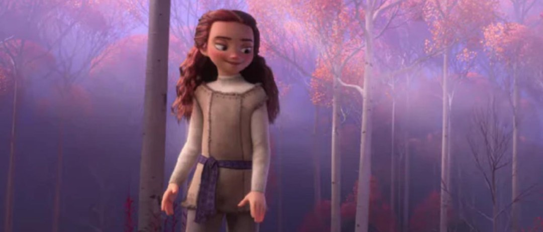 Autumn character in Frozen 2