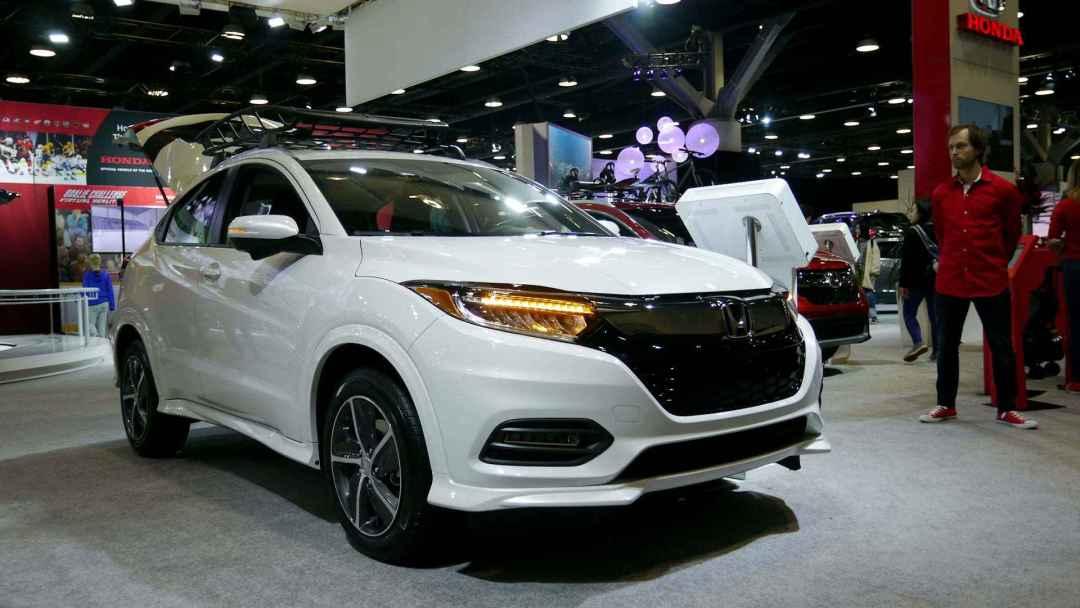 Honda HR-V at Vancouver International Auto Show 2019