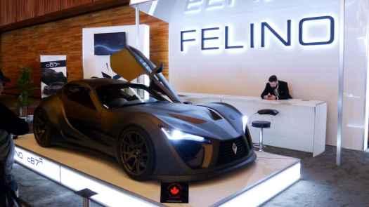 Felino at Vancouver International Auto Show 2019