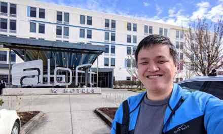 [VLOG] Aloft Portland Airport Hotel Room Tour
