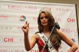 Miss USA 2014 - Nia Sanchez - Baton Rouge - 1st Press Conference - BTR360.COM - Kevin Woolsey Photo (10)
