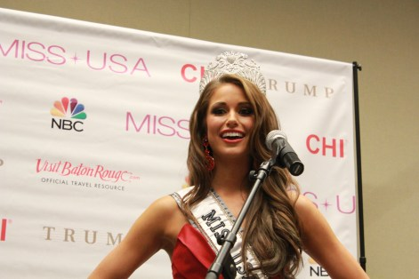 Miss USA 2014 - Nia Sanchez - Baton Rouge - 1st Press Conference - BTR360.COM - Kevin Woolsey Photo (12)