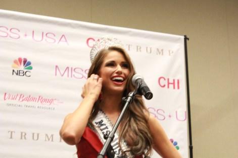 Miss USA 2014 - Nia Sanchez - Baton Rouge - 1st Press Conference - BTR360.COM - Kevin Woolsey Photo (13)