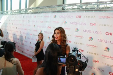 Miss USA Donald J Trump CHI Celebrity Red Carpet Visit Baton Rouge 360 Miss Universe Organization MUO Photo Kevin Woolsey (318)
