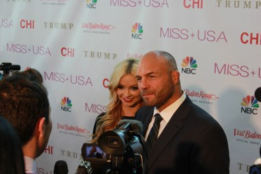 Randy Couture in Baton Rouge - Miss USA 2014