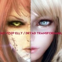 自作フォロワー「Transformable Elly⇔Dryad」公開