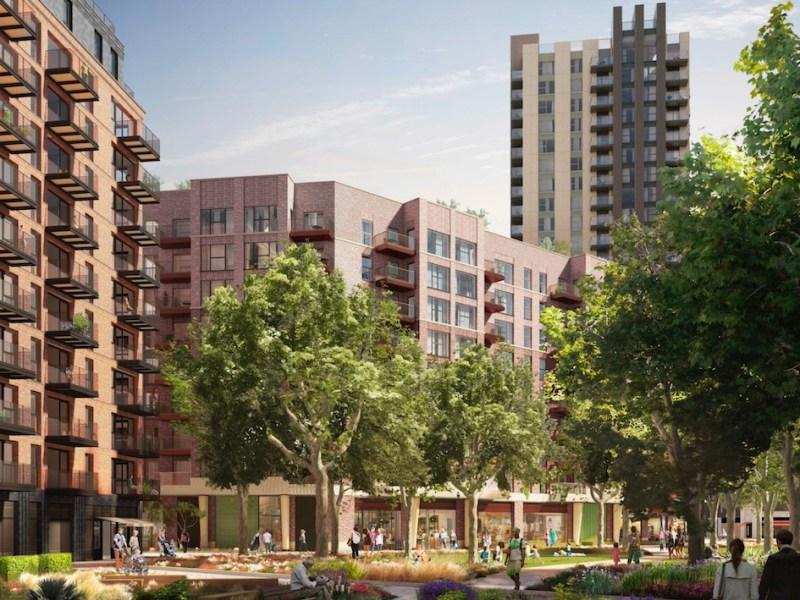 Elephant Park Build to Rent scheme, South London