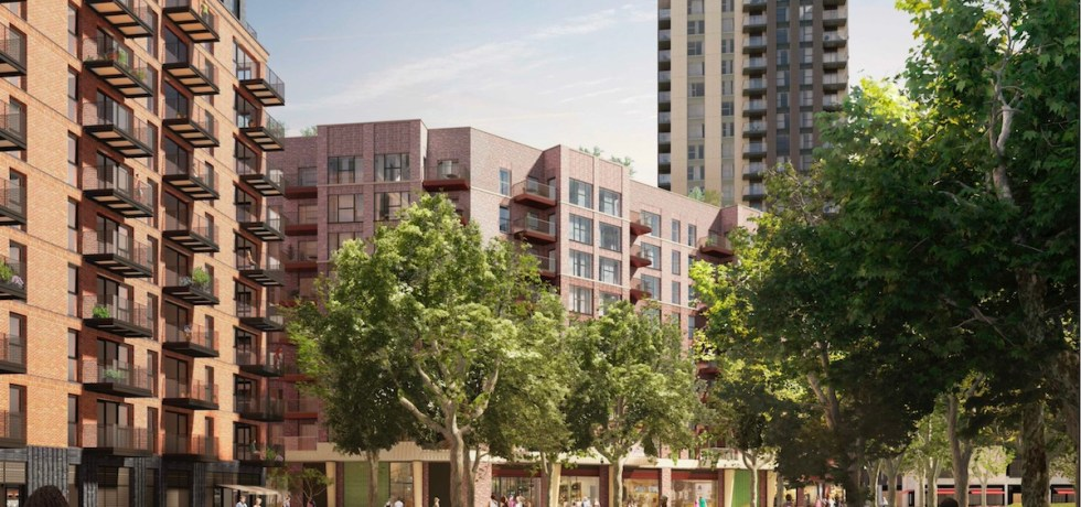 Elephant Park Build to Rent scheme, South London