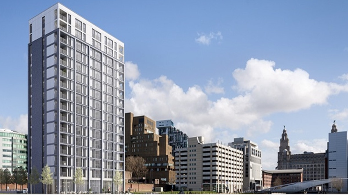 Plaza 1821 Build to Rent scheme, Liverpool Waters
