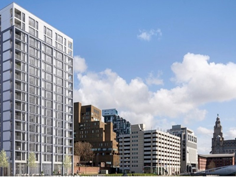 Plaza 1821 Build to Rent scheme, Liverpool Waters