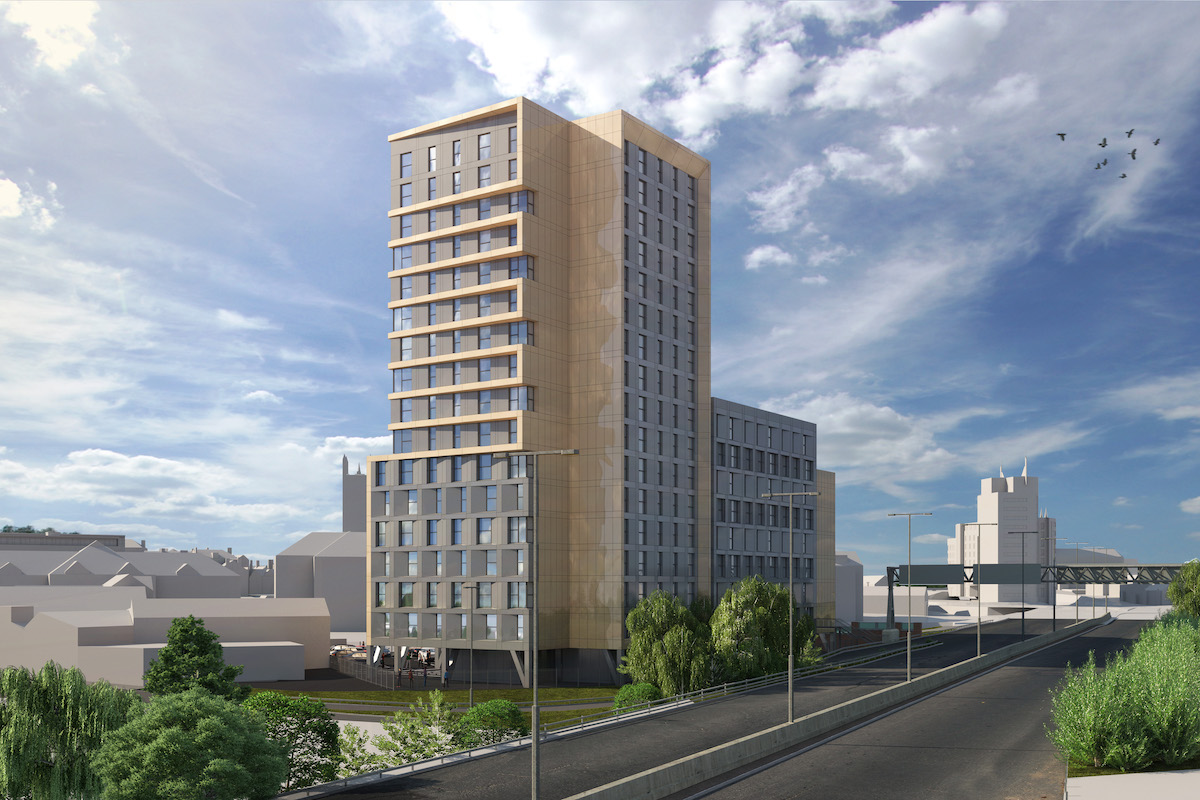 The Landmark Build to Rent scheme, Derby