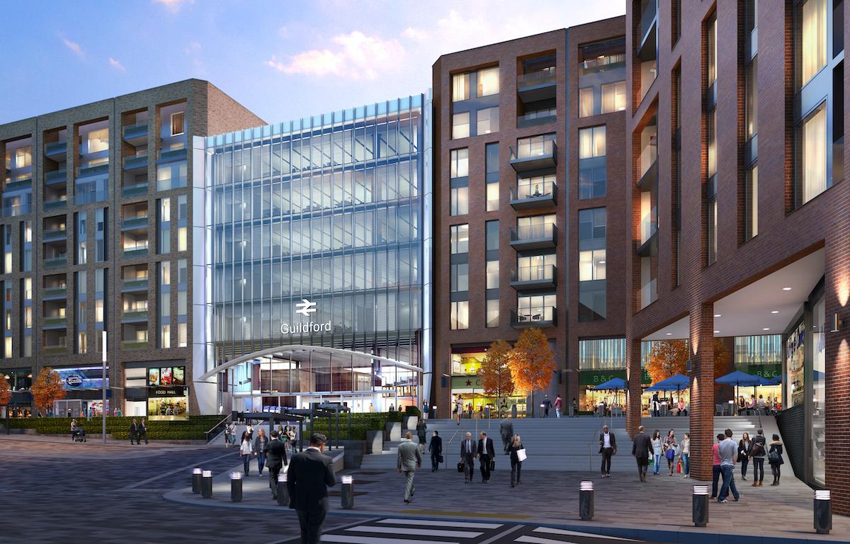 Guildford Build to Rent scheme - Solum | Grainger