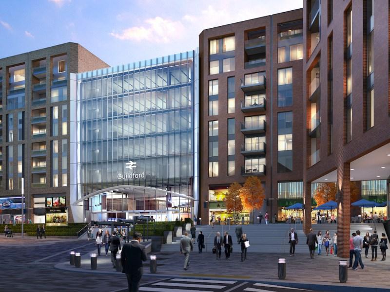 Guildford Build to Rent scheme - Solum   Grainger