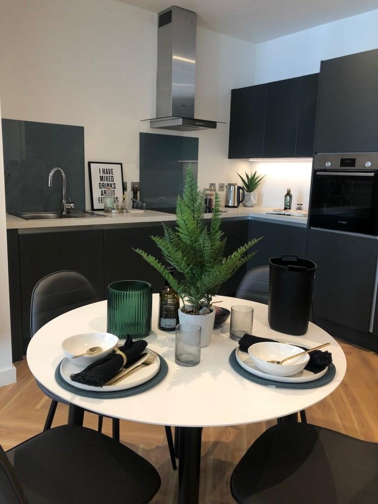Kitchen at The Green Rooms Build to Rent scheme | BTR News
