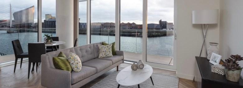 The Green Rooms Lounge overlooking MediaCityUK | BTR News