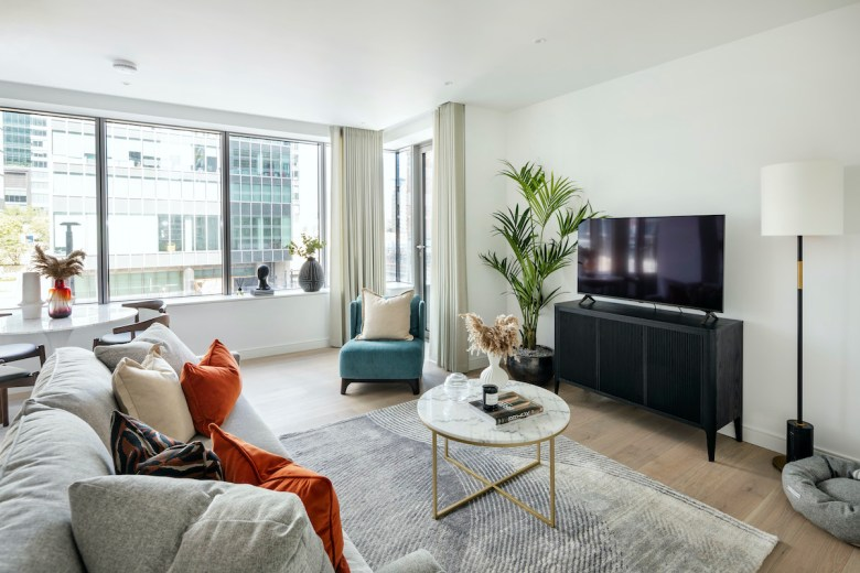 Lounge at 8 Water Street apartment 102 - Vertus | BTR News