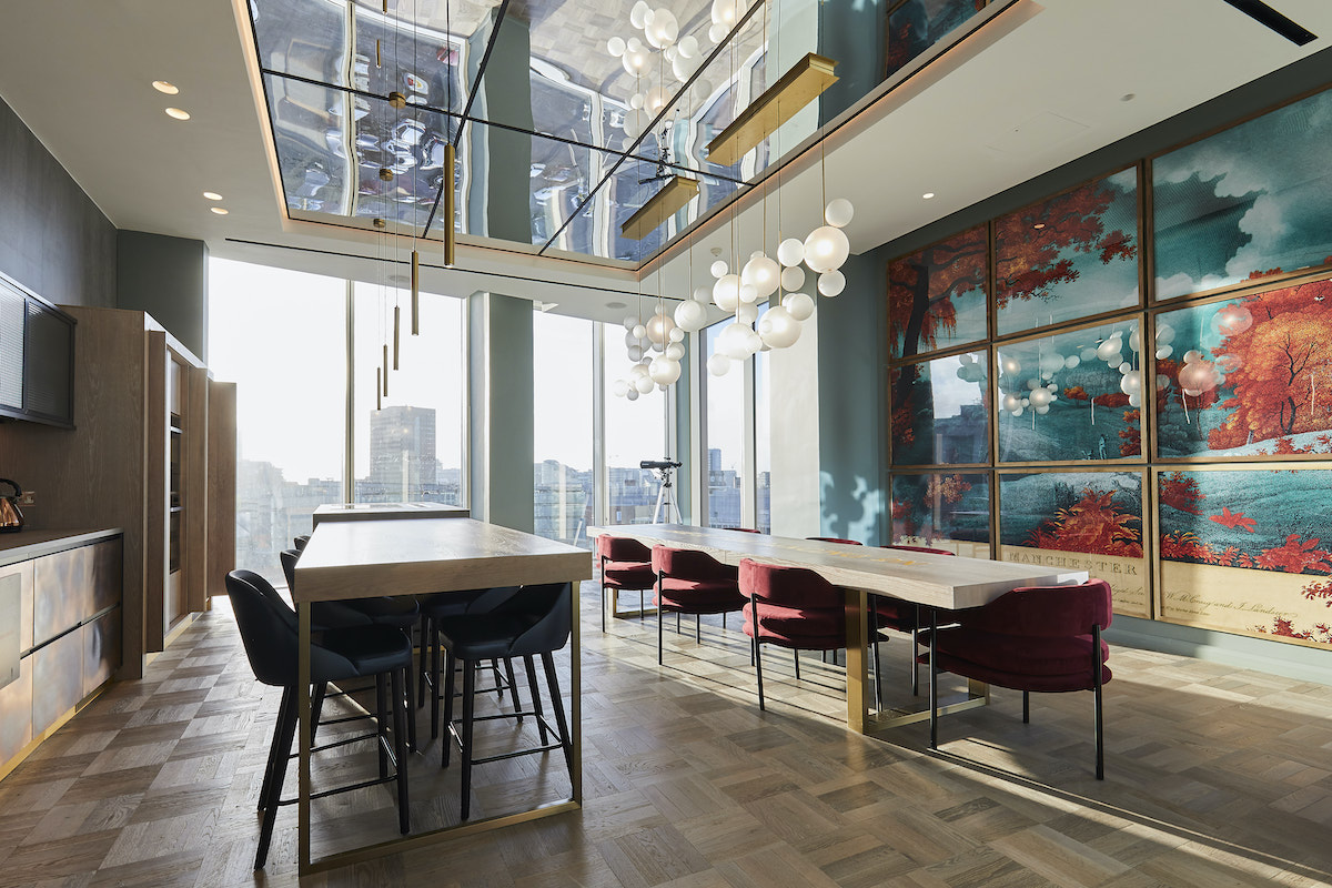 Moda private dining, Angel Gardens Build to Rent scheme | BTR News