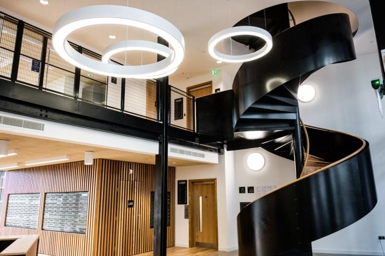 Inside Smithfield's Clayworks BTR and Hilton Garden Inn building   BTR News