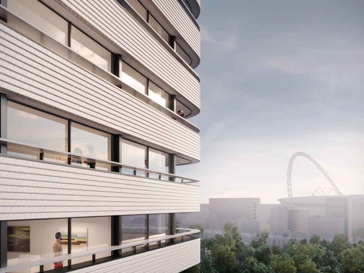 Wembley Link Build to Rent scheme with Wembley stadium views - HUB | BTR News