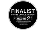 Central Coast Brides Choice Awards Finalist 2021