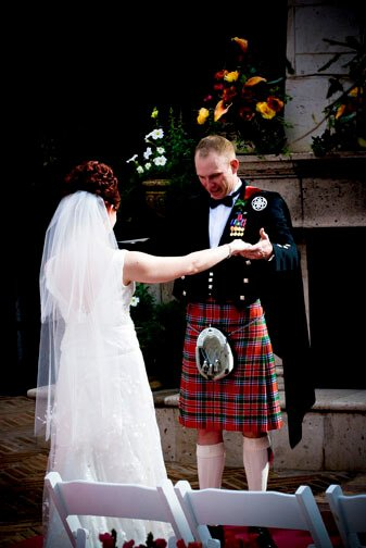 Scottish Kilt Wedding