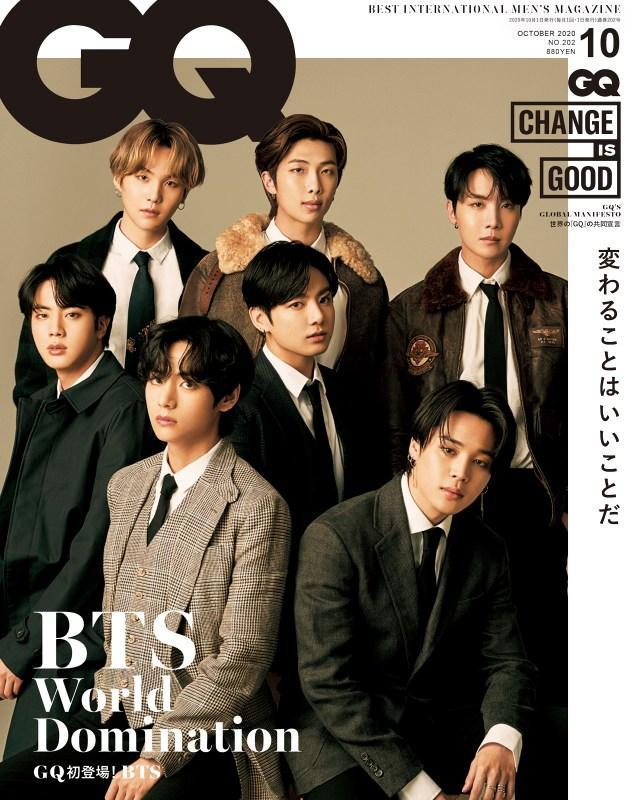 BTS GQ JAPAN