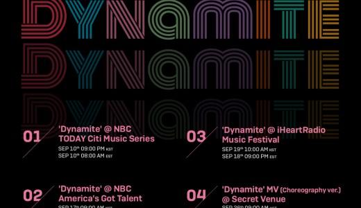 Dynamite プロモーションスケジュール 9月