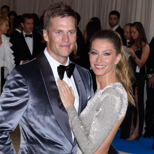 Gisele and Tome Brady- Met Gala 2017