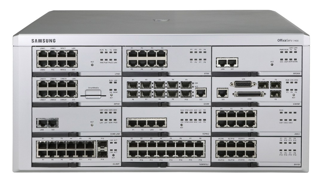 SAMSUNG Officeserv 7400 Systems