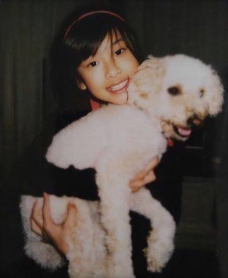 ロゼの実家で飼われている愛犬。