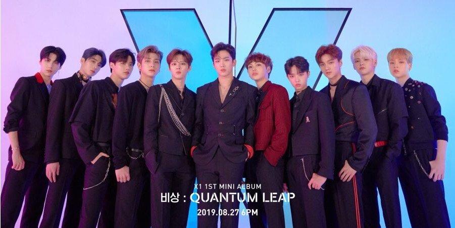 【K-POP男性グループ】メンバーの名前・デビュー日❤︎X1