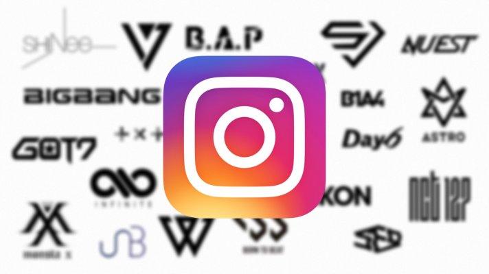 【K-POP男性グループ】Instagramアカウントまとめ【一覧】