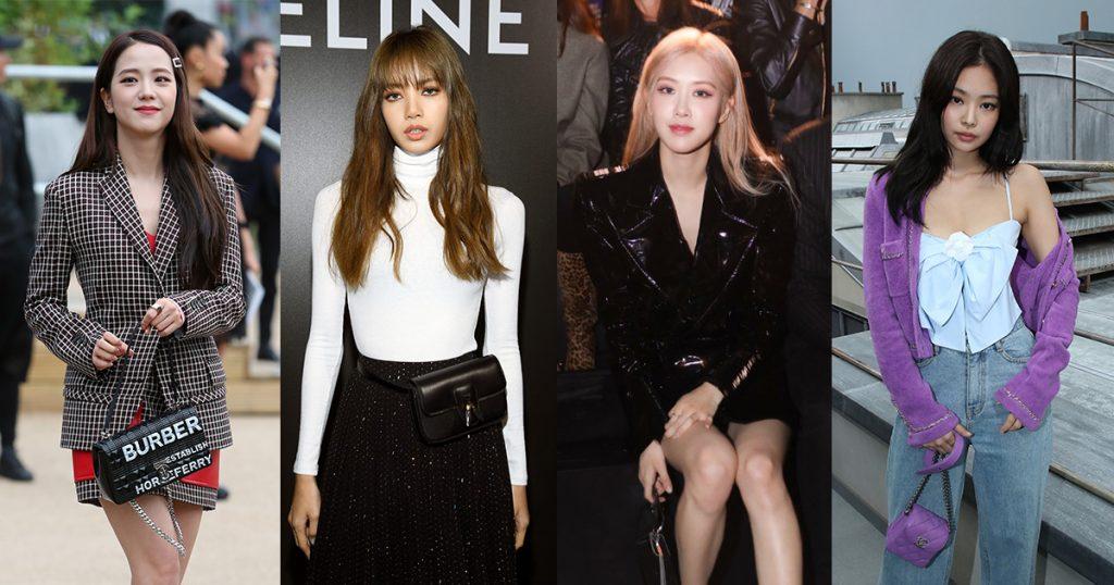 パリのファッションウィークでBLACKPINKメンバー全員それぞれのブランドのショーに招待された…