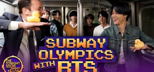 【日本語字幕】 200224 BTS 地下鉄オリンピック (Subway Olympics) ゲーム with ジミー・ファロン