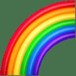【絵文字】虹 Rainbow