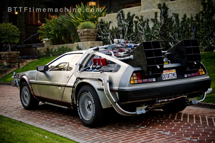 Powered by a Flux Capacitor, this can take you back in time