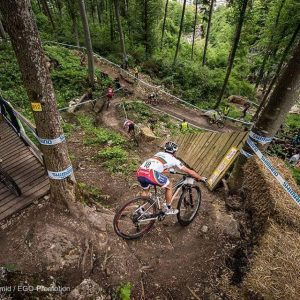 David Rosa no top 15 em Albstadt xco