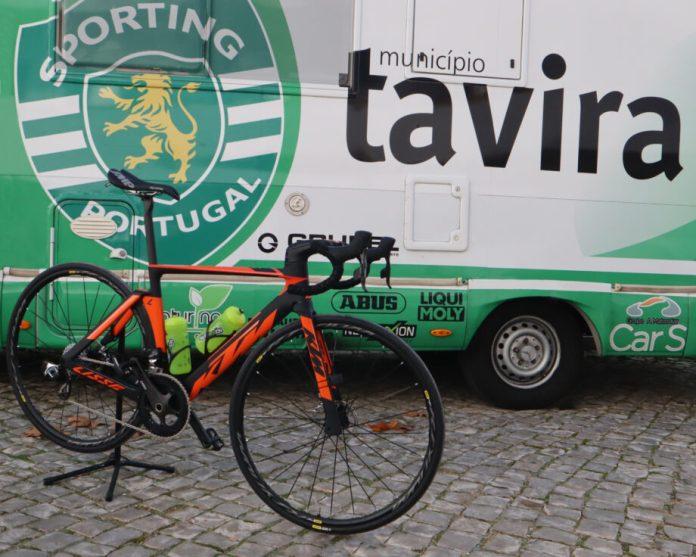 Sporting-Tavira Com Travões De Disco Na Época 2019