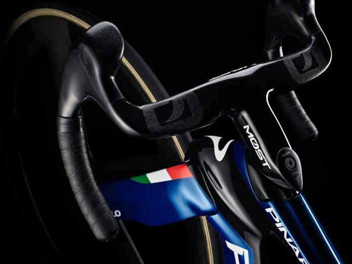 A Pinarello Maat Que Será Usada Pela Seleção Italiana Na Taça Do Mundo De Ciclismo De Pista