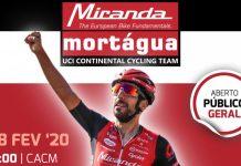Apresentação da Equipa Continental UCI Miranda-Mortágua para 2020