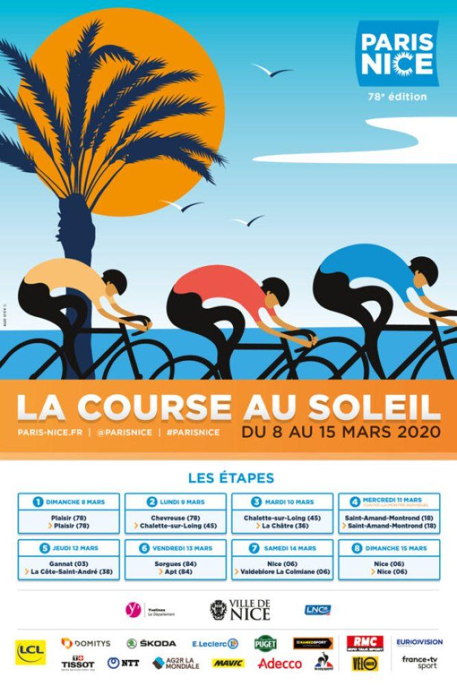 Paris-Nice 2020, a Corrida para o Sol vai para a estrada de 8 a 15 de março